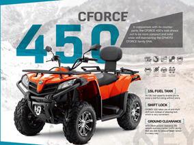Atv Cf Moto 450 Automatico 4x4 2018 Con 6 Pagos Sin Interés