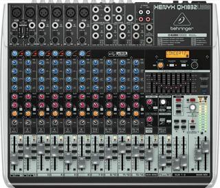 Consola Behringer Xenyx Qx1832usb 10 Canales Efectos