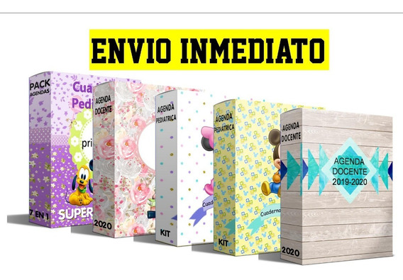 Kit Imprimible Todas Las Agendas De Mi Tienda + 250 Extras