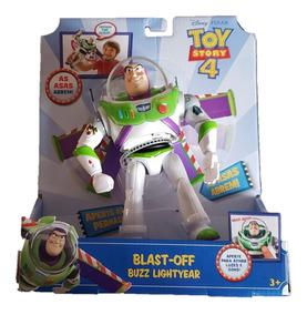 Boneco Eletronico Buzz Lightyear Com Sons E Luzes -mattel