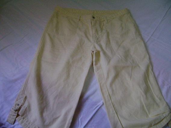 Calça Corsário Da Cambos Jeans Tam 46
