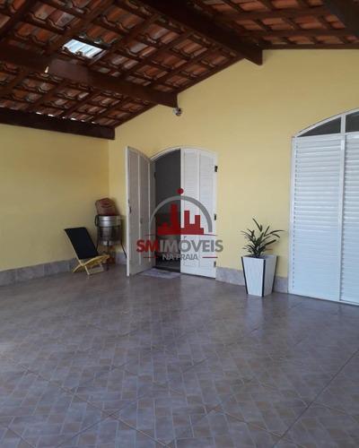 Casa 3 Dormitórios No Caiçara Praia Grande - Ca00311 - 69183811