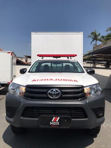 Hilux 4x4 Ambulância Baú Uti Tipo D