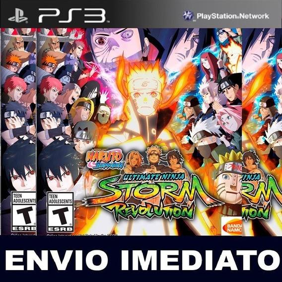 Jogo Inglês | Naruto Shippuden Ultimate - Midia Digital Ps3