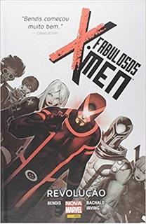 Hq Marvel Capa Dura Fabulosos X-men: Revolução - Lacrado