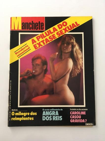 Revista Manchete Caroline - 21 Janeiro 1984 Nº 1657