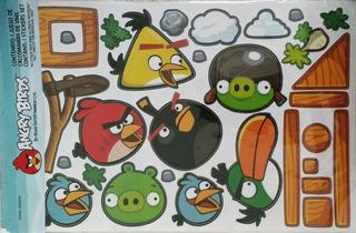 Angry Birds Stickers De Vinilo Para Habitación Ó Muebles