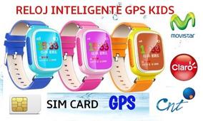Reloj Inteligente Con Gps Localizador Y Llamadas Para Niños