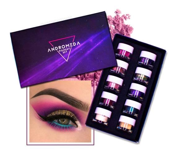 Set Andromeda 10 Pigmentos Puros A2 - Baires Beauty Shop