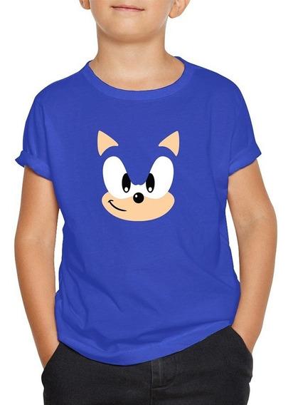 Playera De Sonic Sega Videojuegos Gamer Niño-niña