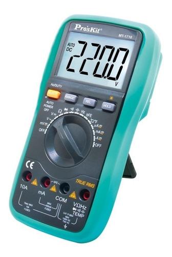 Multimetro Autorrango Proskit Mt-1710 Tester True Rms Pro