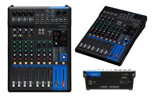 Consola Mixer Yamaha Mg10xuf 10 Canales Faders Envio Usb