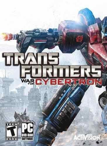 Jogo P/ Pc Transformers War For Cybertron Disco Original