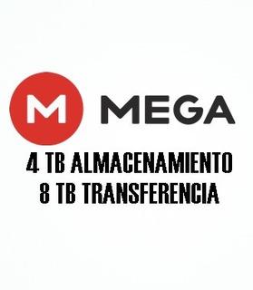 Mega Premium 8 Tb De Transferencia 1 Mes