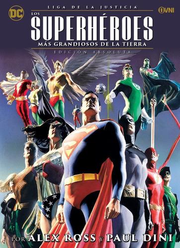 Imagen 1 de 1 de Cómic, Liga De La Justicia Los Superhéroes Más Grandiosos...