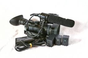 Filmadora Profissional Sony Nx70u Com 3 Baterias