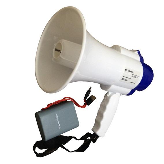 Megafone Recarregavel Com Gravador Musical Soundvoice Mf-20