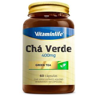Chá Verde 60 Cápsulas - Vitamin Life