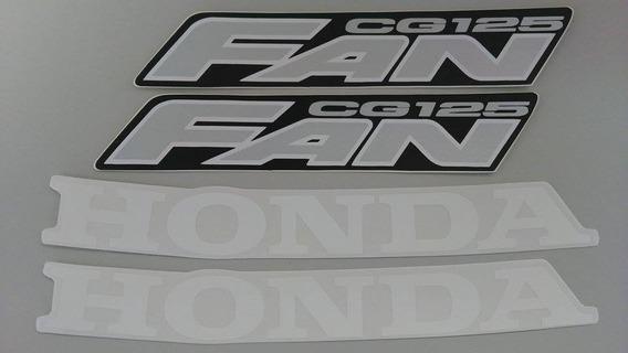 Kit Adesivos Honda Fan Cg 125 2007 Vermelha
