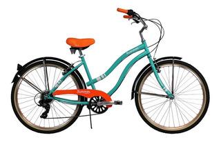 Bicicletas Gw Playera Summer 7vel Rin 26 Para Mujer Revoshif