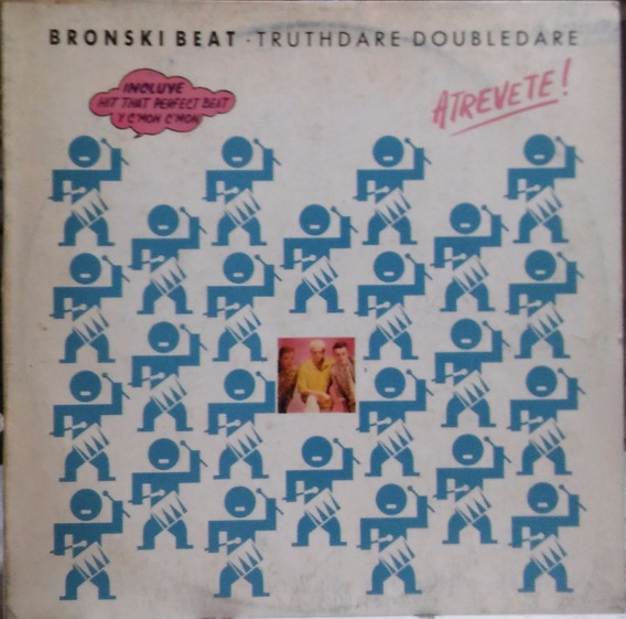 Bronski Beat - Truthdare Doubledare (atrevete) Lp Vinilo