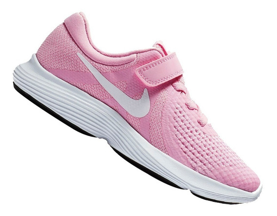 Tênis Nike Infantil Menina Revolution 4 Psv Rosa 943307603