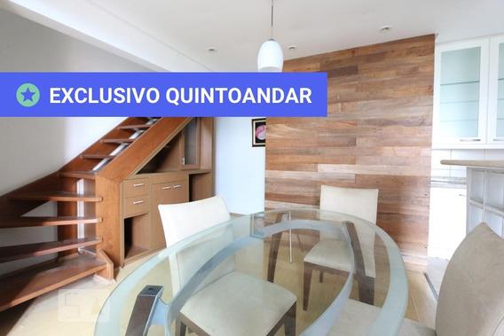 Apartamento No 2º Andar Mobiliado Com 1 Dormitório E 2 Garagens - Id: 892967751 - 267751
