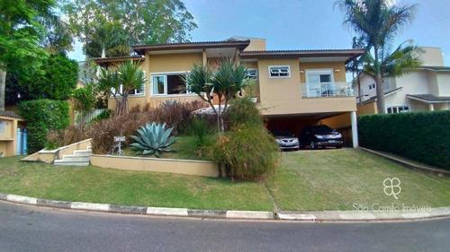 Casa Com 4 Dormitórios, 388 M² - Venda Por R$ 1.800.000,00 Ou Aluguel Por R$ 18.000,00/mês - Granja Viana - Cotia/sp - Ca1798