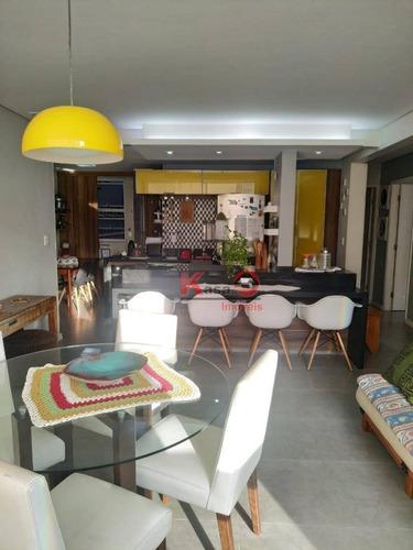 Oportunidade No Gonzaga - Apartamento Com 2 Dormitórios À Venda, 85 M² Por R$ 550.000 - Ap10284