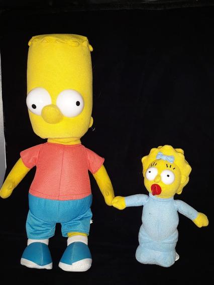 Lote Bart E Maggie Simpson Originais