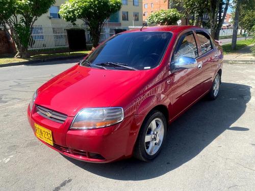 Chevrolet Aveo Ls Mt1600cc Rojo Velvet Aa Ab Rines