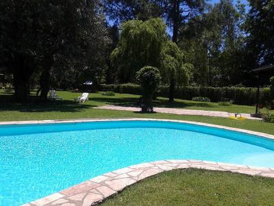 Alquiler Temporada Casa Quinta Fátima Pilar 5.000 Mts Parque