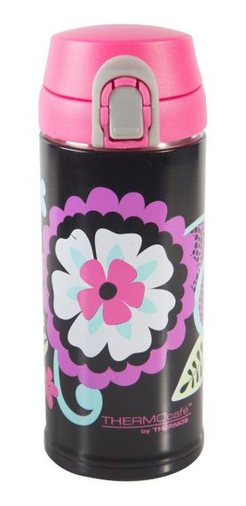 Botella 350ml Acero Inoxidable Flores - Thermos