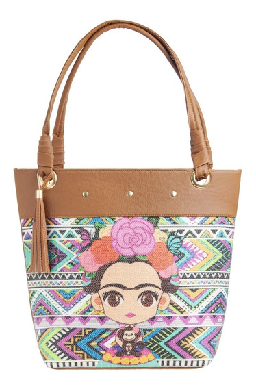 Bolsa Mujer Mod Frida Kahlo Envio Gratis Bolsos Dama Artesanal Mayoreo Original