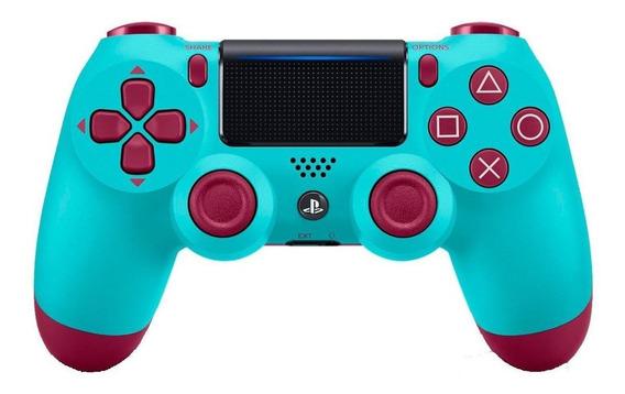 Joystick inalámbrico Sony Dualshock 4 berry blue