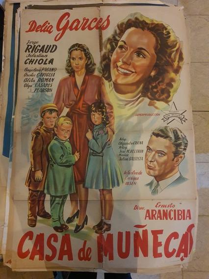 3 Antiguos Afiches De Cine Originales- Lote De 3- Oferta 88