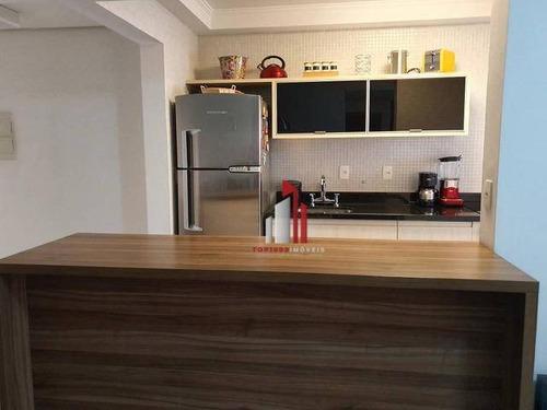Apartamento Com 2 Dormitórios À Venda, 70 M² Por R$ 829.200,00 - Barra Funda - São Paulo/sp - Ap1074