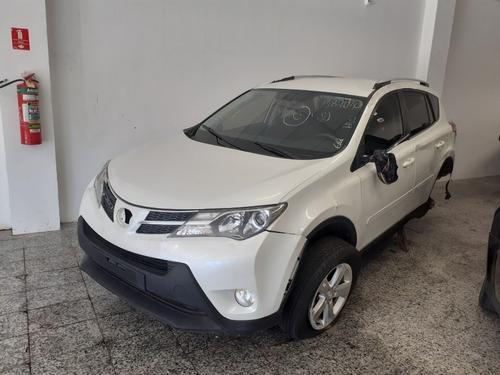 Sucata Toyota Rav4 2.0 16v Dual 2013 Para Retirada De Peças