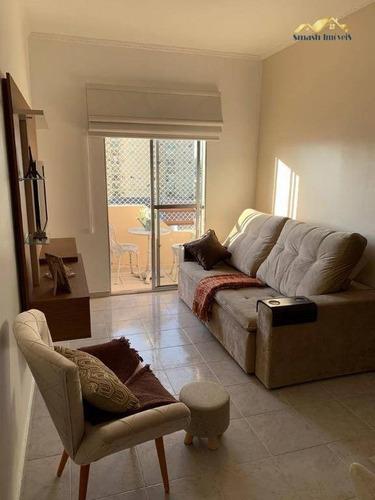 Apartamento Com 2 Dormitórios À Venda, 73 M² Por R$ 318.000,00 - Gopoúva - Guarulhos/sp - Ap0398