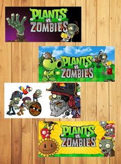 Plantillas Para Tazas Plantas Vs Zombies - Sublimacion