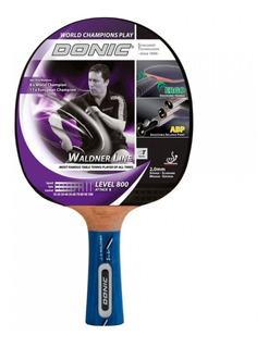 Paleta Ping Pong Donic Waldner 800 Attack Goma Tenis Mesa Madera Tactic Avanzado