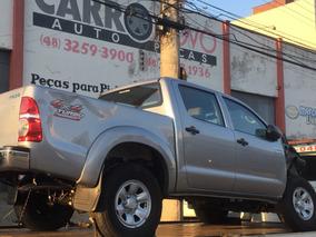 Sucata Para Peças Toyota Hilux 2015 Cambio Lataria Motor