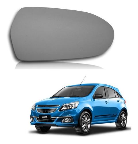 Vidrio De Espejo Chevrolet Agile Izquierdo