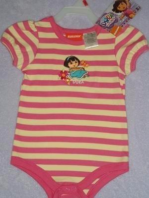 Body De Bebe Dora La Exploradora Talle 18 Meses