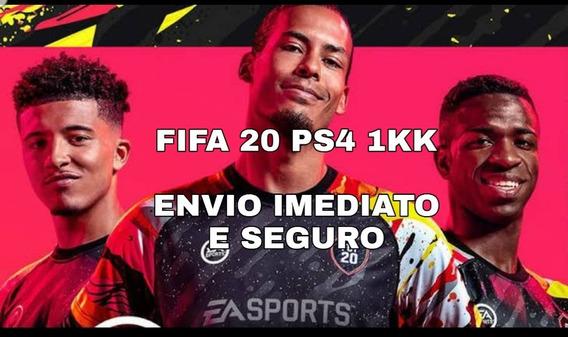 Fifa 20 1kk Ps4 Envio Imediato E Seguro