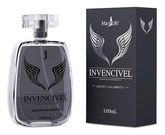 Perfume Invencível Masculino Mary Life 100 Ml