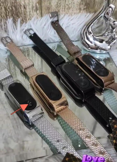 Kit 5 Relógio Feminino Bracelete Digital Tendência Atacado