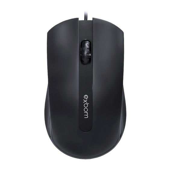 Mouse Usb 1000dpi Optical Preto Exbom Ms-50