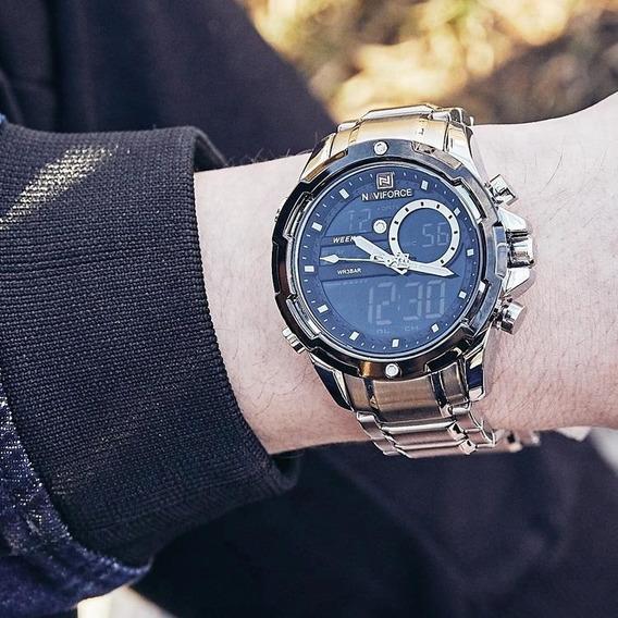 Relógio Naviforce 9120 - Original - Novo - Multifunções