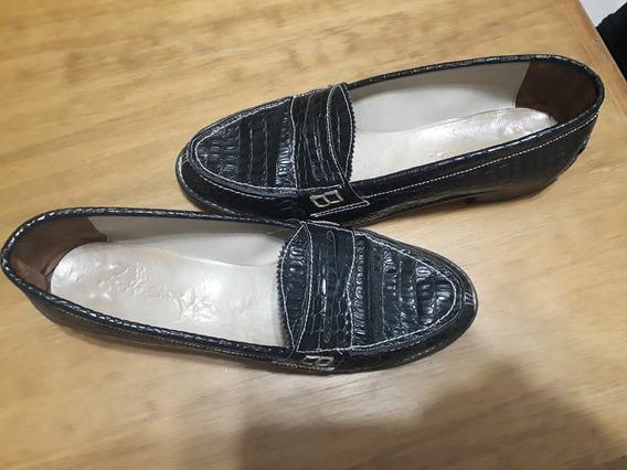 Zapatos Mocasín Nº 39 De Mujer.